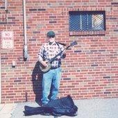 Banjo Frank at work