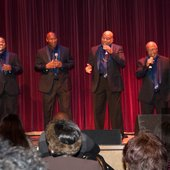 Mighty Men of Faith singing at Yoshi's in Oakland Jack London Square