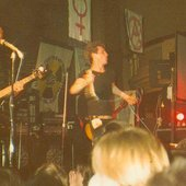 1983 @ Reading Town Hall with Crass, Flux and Andy T