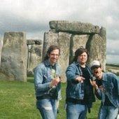 Zeke at Stonehenge