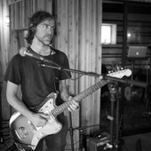 "Aaron Dessner recording Big Red Machine tracks at the ""Long Pond Studio"""