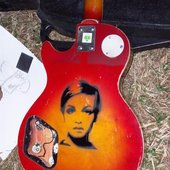 meet my guitar named Twiggy