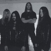 """DEICIDE """"Once Upon the Cross"""" album era...  scan from Pit Magazine"""