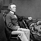 Richard Wagner and his dog, Pohl