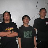 new line up Ryan (drums), Louie (guitars), Benjie (vocals)