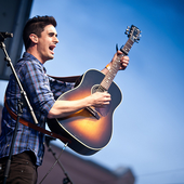 Kristian Stanfill, live in April 2013.