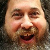 Stallman's happy face