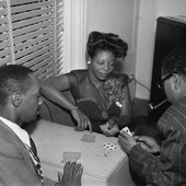 Playing cards with Dizzy Gillespie and Tadd Dameron