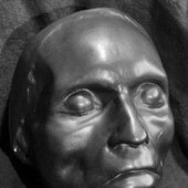 Beethoven's posthumous mask by Joseph Dunhauser