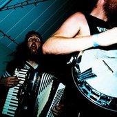Zack - Accordion, Caspian - Banjo