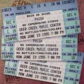 1995-06-19: Deer Creek Music Center, Noblesville, IN
