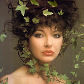 Kate Bush photographed by Clive Arrowsmith
