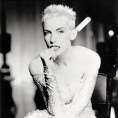 Eurythmics - From Don't ask me why photoshoot.