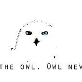 Trust the owl. Owl never lie.