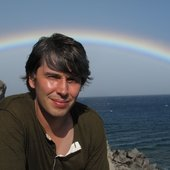 Brian & rainbow