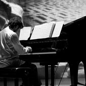 Tiziano plays the piano