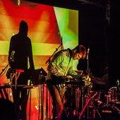 Tycho performing in The Stiff Kitten, Belfast