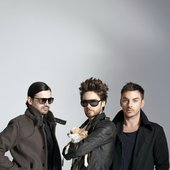 30 Seconds to Mars promo shots.