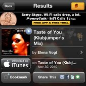 Taste of You and Elena on SoundHound!
