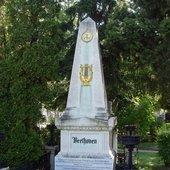 Beethoven's grave at Vienna Zentralfriedhof