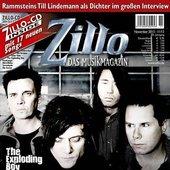 Cover, Zillo 2013