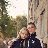 Soela with boyfriend