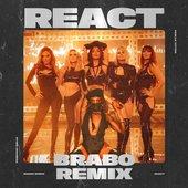 React (Brabo Remix) [feat. Pabllo Vittar] - Single