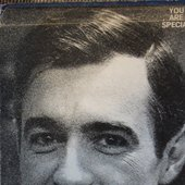 "From Mister Rogers' (knows that) ""You Are Special\"" LP -- back, detail"