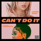 Can't Do It (feat. Saweetie) - Single
