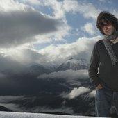 Marcus Martin on a mountain