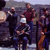 China busking on Great Wall