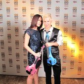 One of kind Girl-Boy rock string duo - FUSE!