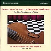 Dances and Canzonas of Holborne and Brade