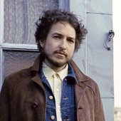 Bob Dylan Houston Street, NYC, 1970