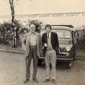 Bill Fay and dad
