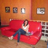 Elena in studio