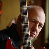 Mark and crimson guitar