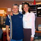 Bob Rivers and Jenni Hogan