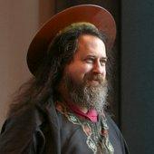 Saint IGNUcius of the Church of Emacs (Richard Stallman)