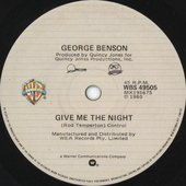Give Me The Night - Single