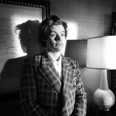 Harry Styles backstage at SNL