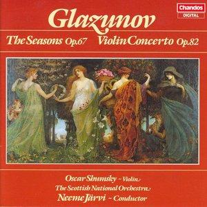 Image for 'Glazunov: Seasons (The) / Violin Concerto'
