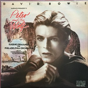 Image for 'David Bowie narrates Prokofiev's Peter and the Wolf & The Young Person's Guide to the Orchestra'