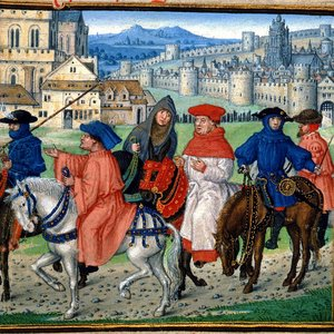 Image for 'The Canterbury Tales'