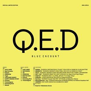 Immagine per 'BLUE ENCOUNT / Q.E.D'