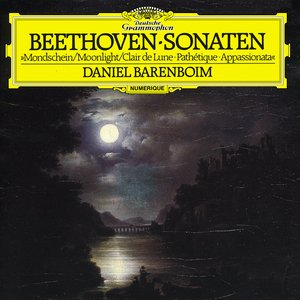 "Image for 'Beethoven: Piano Sonatas Nos.8 ""Moonlight"", 14 ""Appassionata"" & 23 ""Pathétique""'"