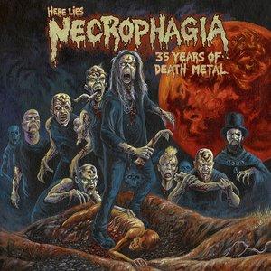 Изображение для 'Here Lies NECROPHAGIA; 35 Years of Death Metal'