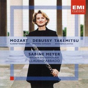 Image for 'Mozart: Clarinet Concerto/Debussy: Première Rhapsodie/Takemitsu: Fantasma/Cantos'