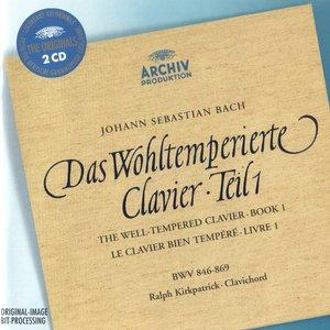 Изображение для 'J. S. Bach *  Well-Tempered Clavier 1 * CD 1'