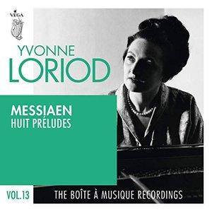 Image for 'Messiaen: Huit préludes'